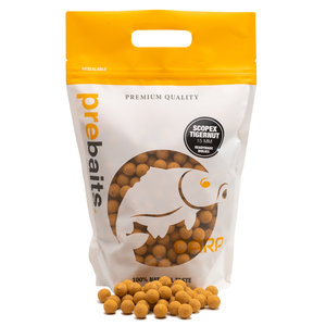 Prebaits Scopex Tigernut Boilies 15mm